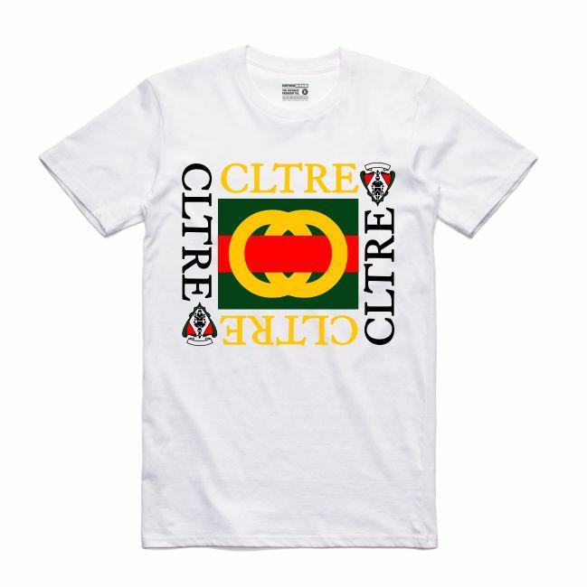 Streetwear on Demand CULTURE GOOCH TEE WHITE