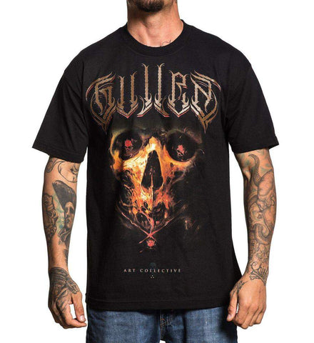 SULLEN x JORQUERA BADGE TEE SHIRT BLACK