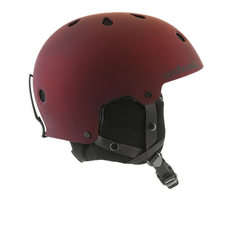 Sandbox x BOA APEX LEGEND Snow Helmet MATTE BORDEAUX