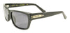 BLACK FLYS McFLY SUNGLASSES SHINY BLACK POLARIZED SMOKE LENS