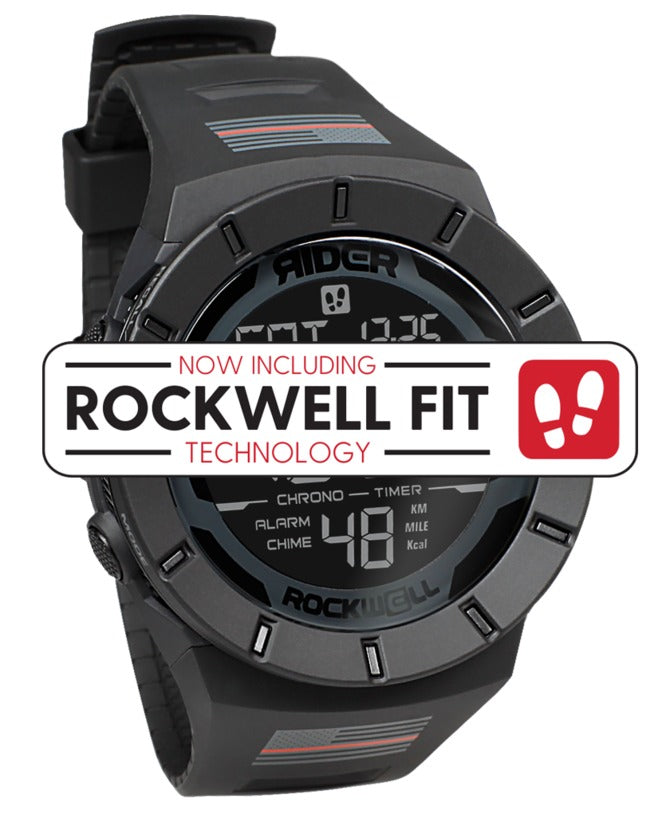 ROCKWELL THE COLISEUM FIT WATCH THIN RED LINE FIRE