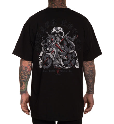 SULLEN ONCE BITTEN TEE SHIRT BLACK