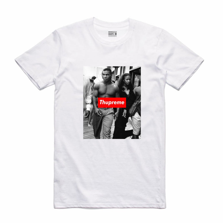 Streetwear on Demand THUPREME JUMPROPE TEE WHITE