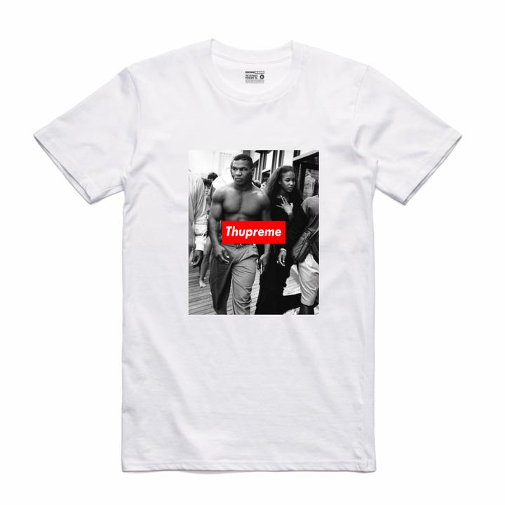 Streetwear on Demand THUPREME STRUT TEE WHITE