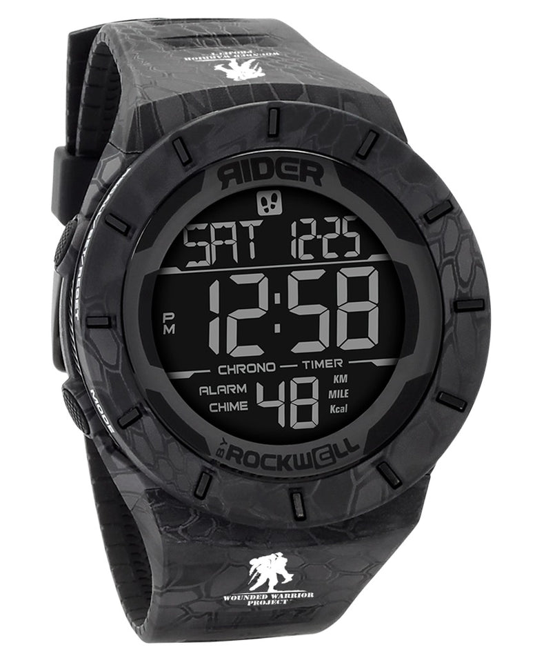 ROCKWELL THE COLISEUM FIT WATCH KRYPTEK WOUNDED WARRIOR