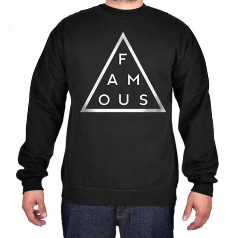 Famous Stars & Straps BLACK MASS Crew Sweater
