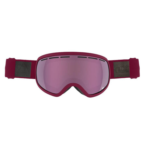 Sandbox THE BOSS GOGGLE BURGUNDY PINK IONIZED