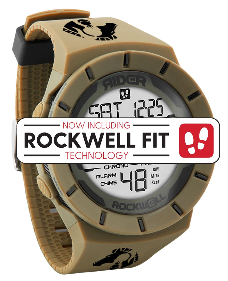 ROCKWELL THE COLISEUM FIT WATCH HIDALGO SAND