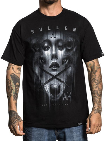 SULLEN x JAK CONNOLLY TEE SHIRT BLACK