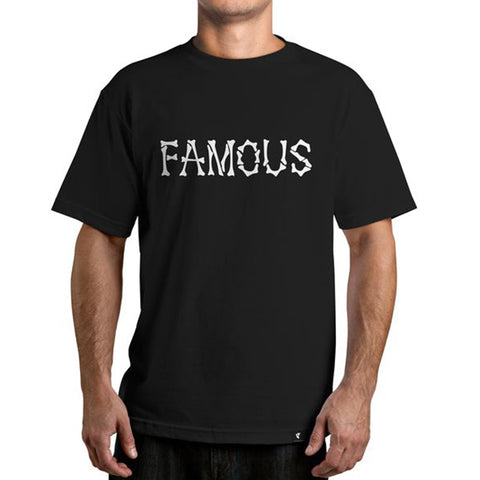 Famous Stars & Straps THE REMAINS Tee Shirt BLACK