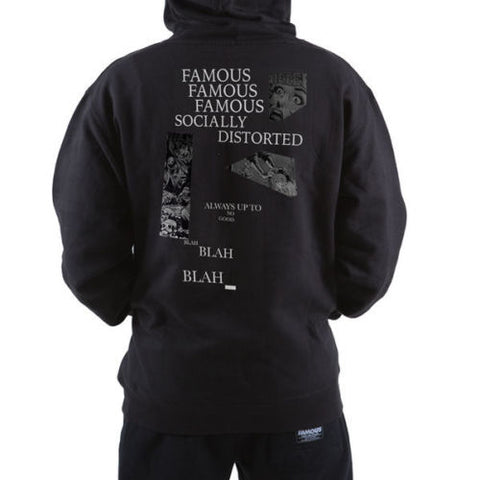 Famous Stars & Straps SOCIALLY DISTORTED Hoodie BLACK