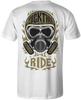 HEATHEN JUST RIDE TEE SHIRT WHITE