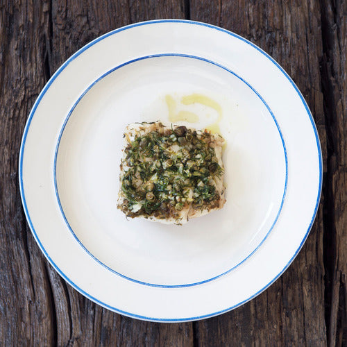 COD WITH DILL & CAPERS