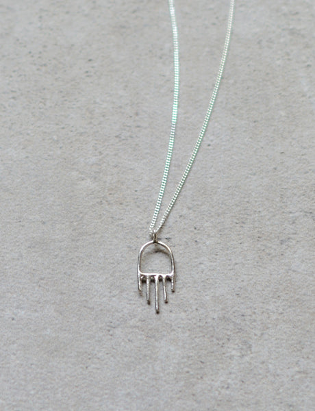 Mini Hamsa Necklace by studio baladi