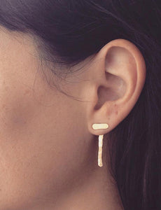 T earrings