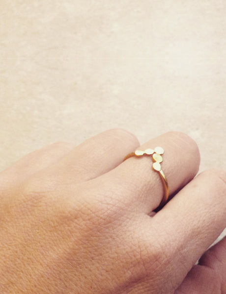 Arrow ring by studio baladi