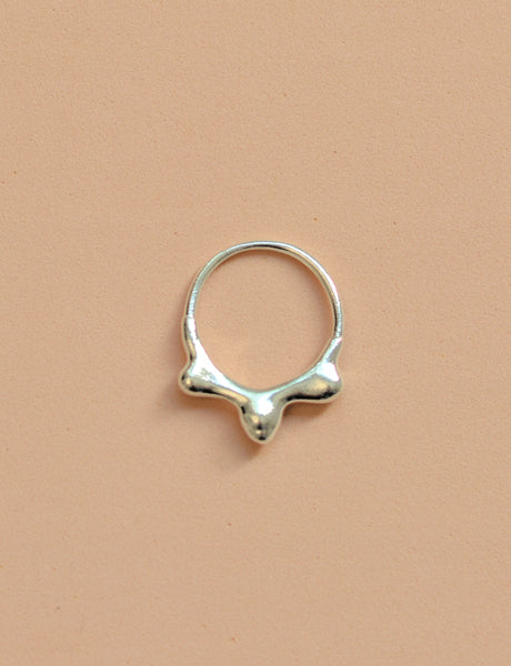Mercury crown ring