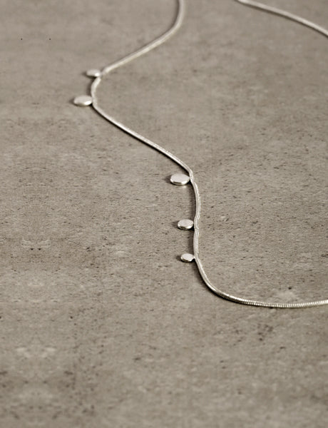 Dot necklace by studio baladi