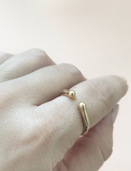 Mercury Cuff ring