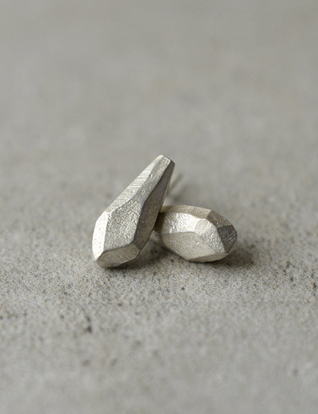 Sterling Silver Rock drops