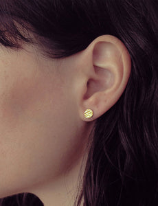 Signet earrings by Studio Baladi