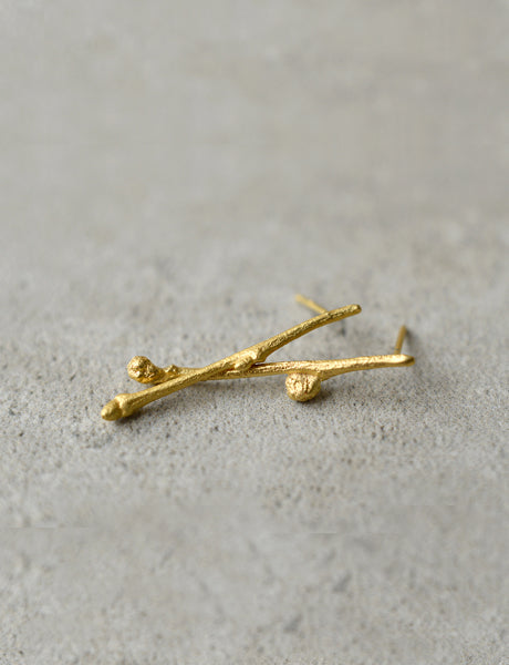 twig earrings by studio baladi