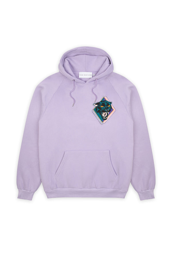 Lilac Panther Hoodie