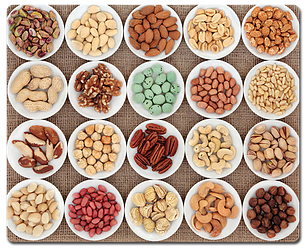 Grains, Beans, Nuts & Seeds