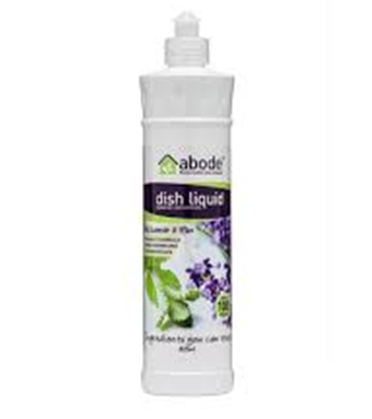 Abode Natural Dishwashing Liquid – Lavender & Mint 615ml