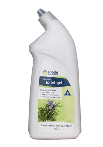Abode Natural Toilet Cleaner Gel – Rosemary & Mint 750ml