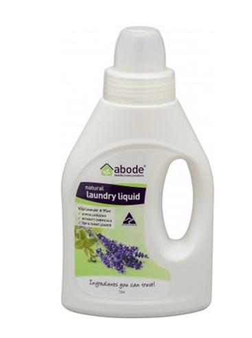 Abode Natural Laundry Liquid – Lavender & Mint 1L