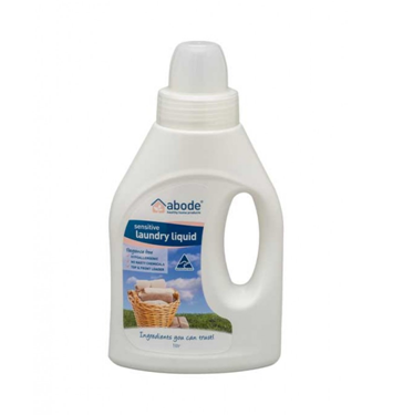 Abode Natural Laundry Liquid – Fragrance Free 1L