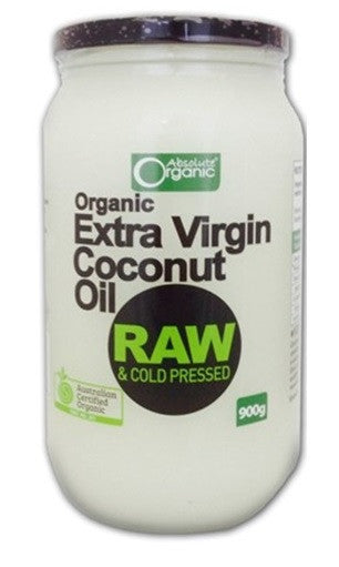 Absolute Organic Extra Virgin Coconut Oil 900g