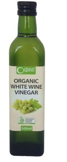 Absolute Organic White Wine Vinegar 500ml