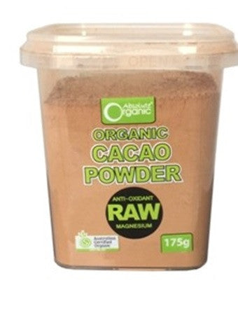 Absolute Organic Raw Cacao Powder 175g