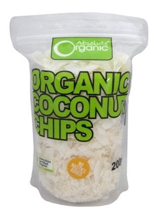 Absolute Organic Coconut Chips  200g