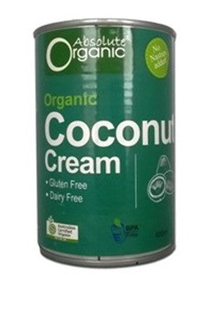Absolute Organic Coconut Cream 400g