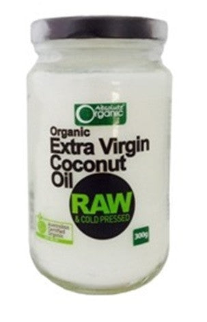 Absolute Organic Extra Virgin Coconut Oil 300g