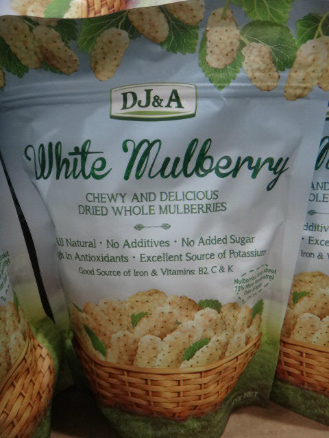 DJ&A White Mulberries 500g