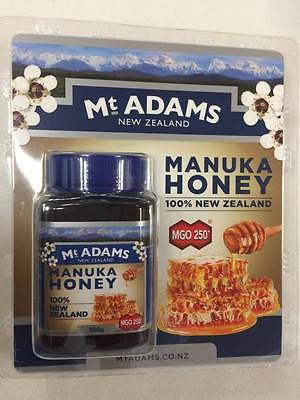 Mt Adams Manuka Honey MGO 250+ 500g