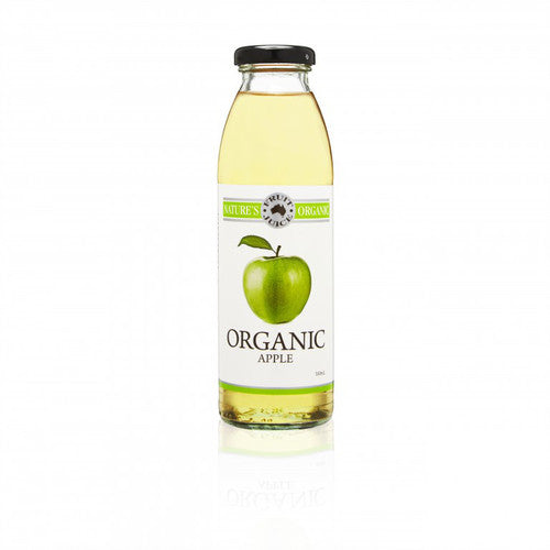 Nature's Organic Apple Juice 350ml