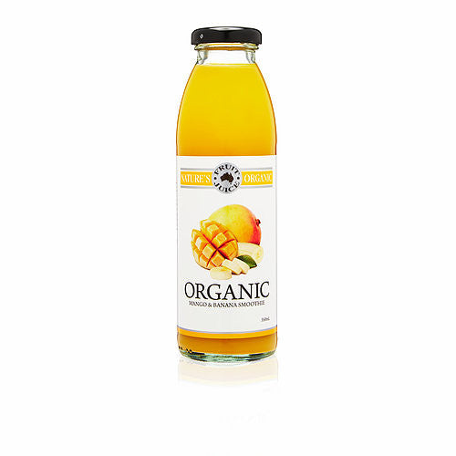 Nature's Organic Fruit Juice - Organic Mango & Banana Smoothie 350ml