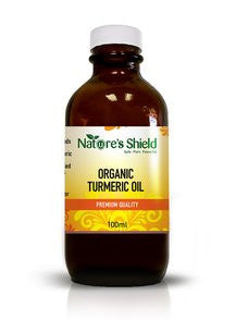 Nature's Shield Organic Tumeric Oil 25ml