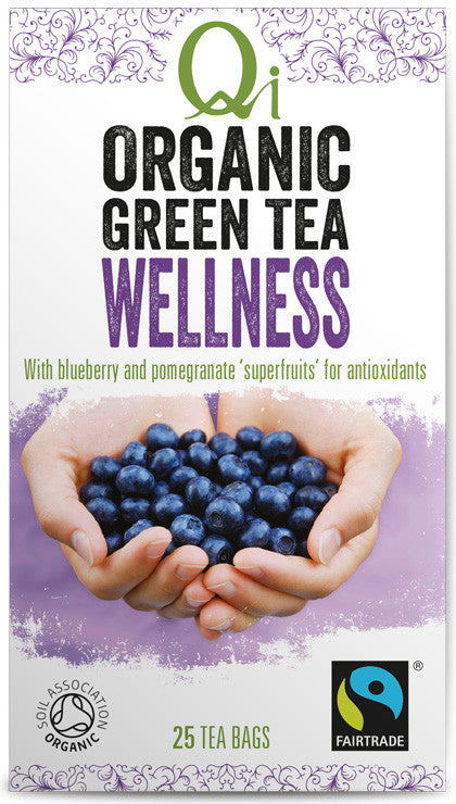 Qi Tea Organic Green Tea - Wellness