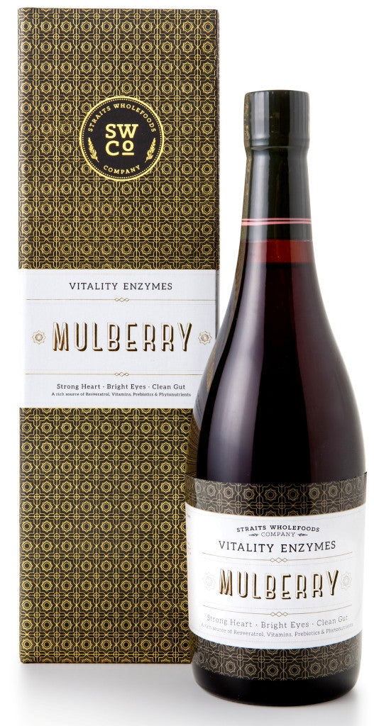 Straits Wholefoods Mulberry Vitality Enzymes 750ml