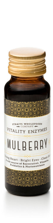 Straits Wholefoods Mulberry Vitality Enzymes 50ml