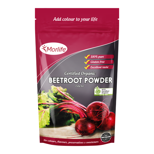 Morlife Beetroot Powder - Certified Organic 150g
