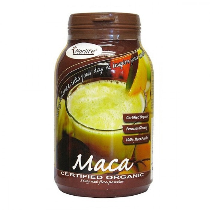 Morlife Maca Powder Certified Organic 300g