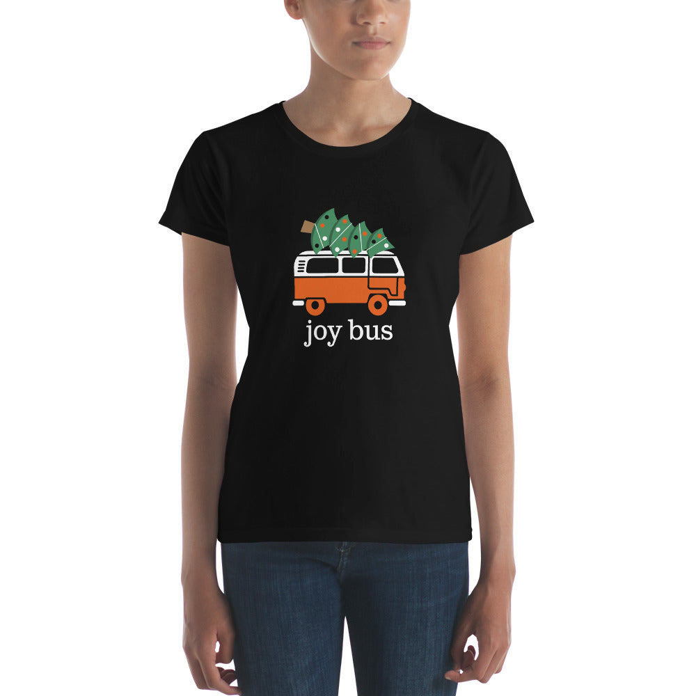 JOY BUS for Christmas T-Shirt Limited Edition-Women's