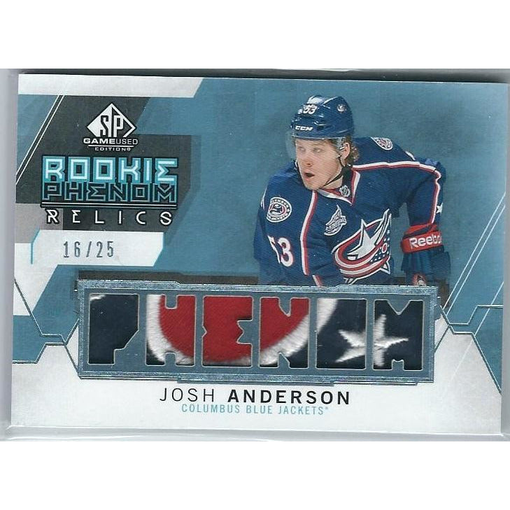 2010-11 Upper Deck Black Diamond Glenn Anderson Quad Jersey BB EDM